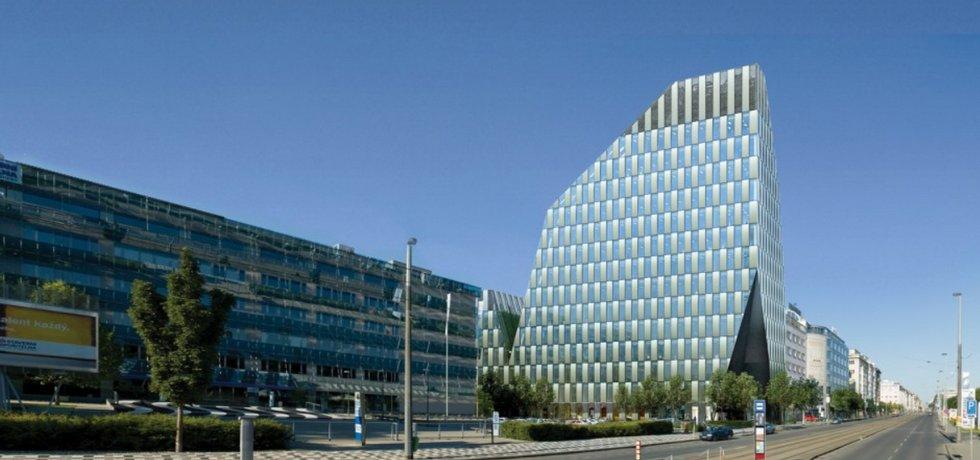 kancelářské centrum Crystal v Praze