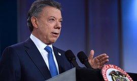 Kolumbijský prezident Juan Manuel Santos