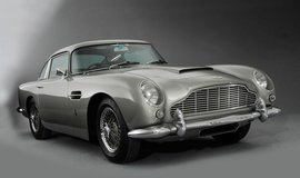 Aston Martin DB5 Superleggera z roku 1964