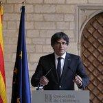 Katalánský premiér Carles Puigdemont