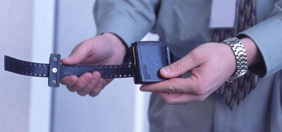 Elektronické monitorovací zařízení, ilustrační foto
