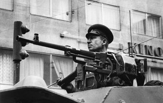 Srpen 1968, velitel obrněného vozidla