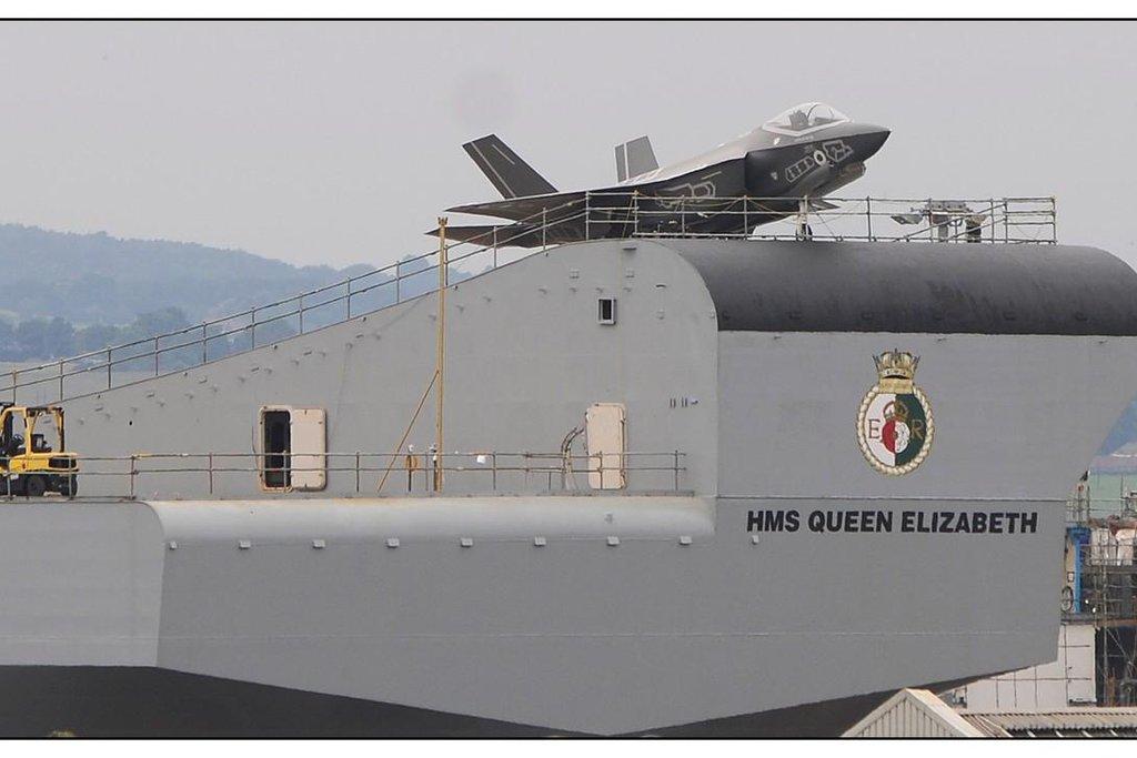 Queen Elizabeth je dosud největší a nejpokročilejší britské válečné plavidlo.