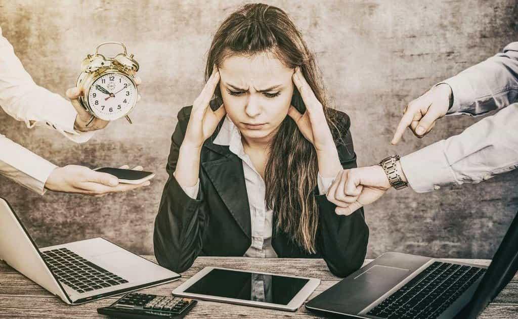 Pracovní vytížení, ilustrační foto