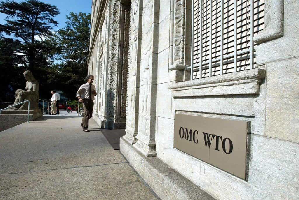 Sídlo WTO v Ženevě