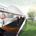Omezení maximální rychlosti na 25 km/hod a někde i méně. To je projekt BMW Vision E³ Way pro velká města.