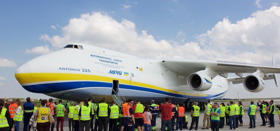 Antonov An-225 Mrija v Praze (Autor: Jiří Červenka)