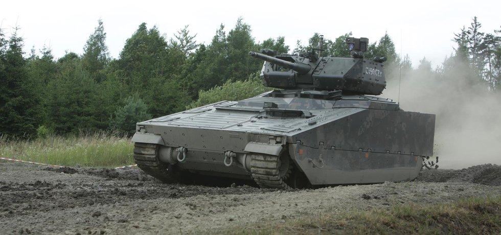 Vozidlo CV90, ilustrační foto
