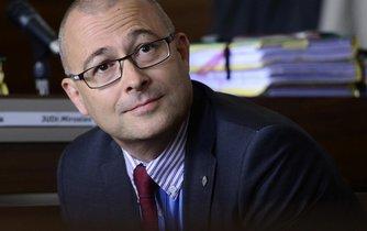 Exministr obrany Martin Barták