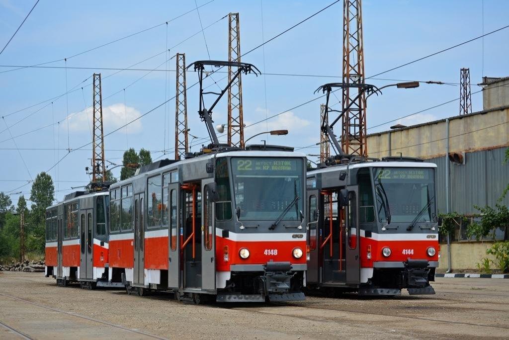 V Sofii už se tramvaje osvědčily