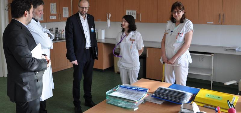 Audit ve Vsetínské nemocnici