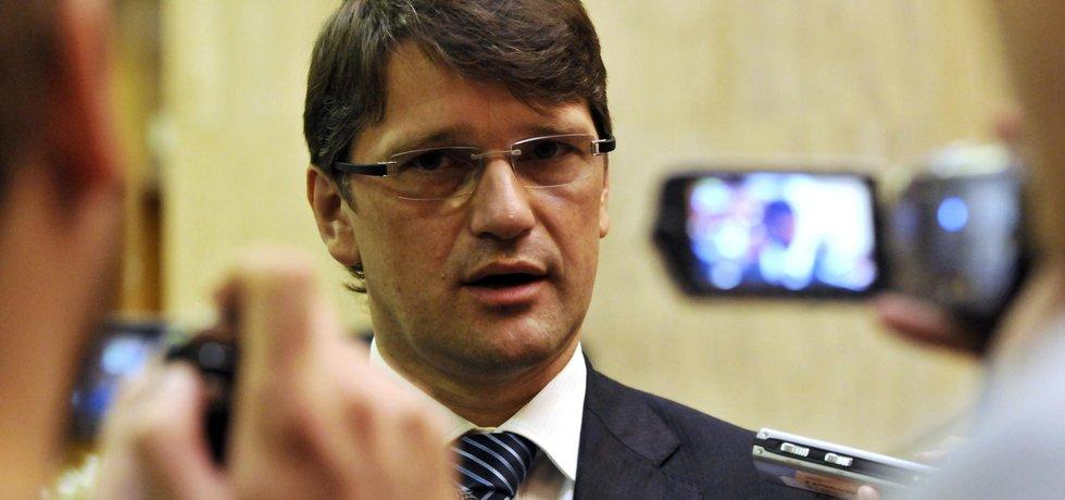 Slovenský ministr kultury Marek Maďarič