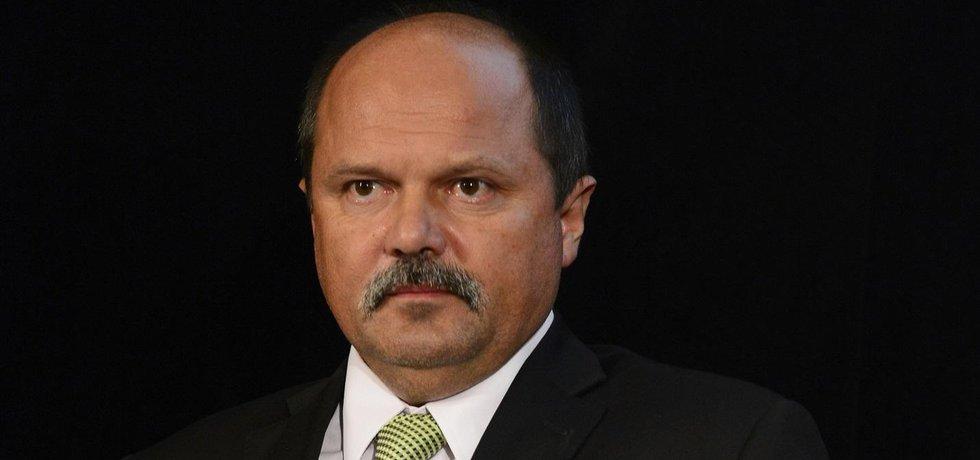 Ministra zemědělství v demisi Jiří Milek
