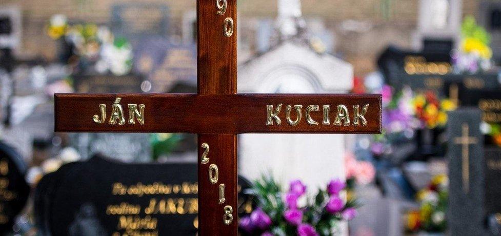 Hrob Jána Kuciaka, ilustrační foto