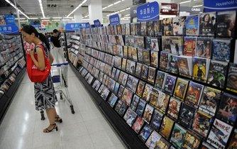 Prodejna Wal Mart v čínské metropoli Pekingu