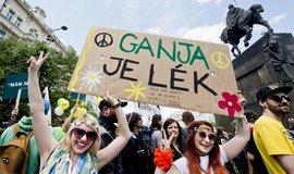 Demonstrace na podporu legalizace marihuany