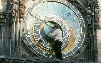Změna času na pražském orloji