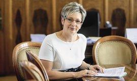 Ministryně průmyslu a obchodu Marta Nováková