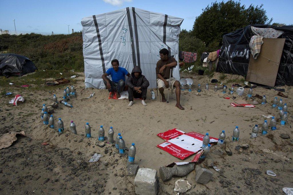 Calais v obležení imigrantů