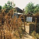 Hraniční přechod. Takto vypadá vstup do Etiopie z Keni