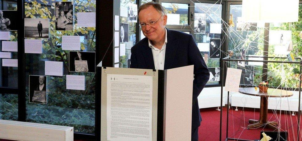 Lídr sociálních demokratů v Dolním Sasku Stephan Weil
