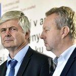 Tomáš Rychtařík (vlevo) na snímku s ministrem životního prostředí Richardem Brabcem