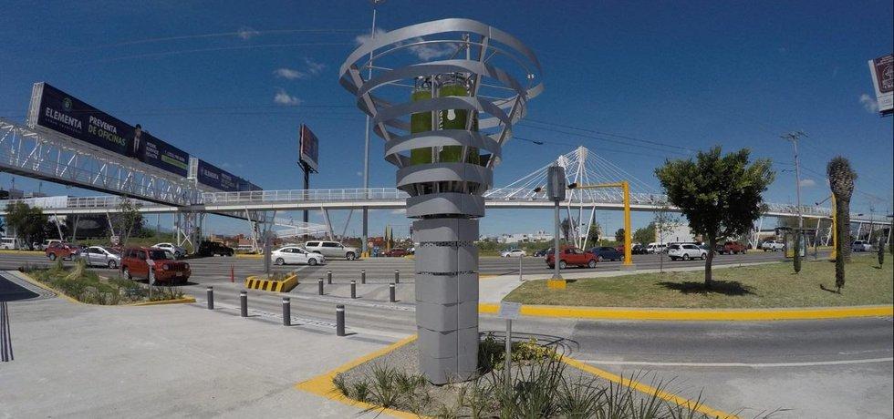 Umělý strom BioUrban v mexickém městě Puebla, ilustrační foto