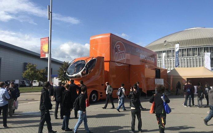 ifm truck je interaktivní odpovědí na otázky, které Průmysl 4.0 přináší
