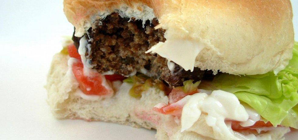 Hamburger, ilustrační foto