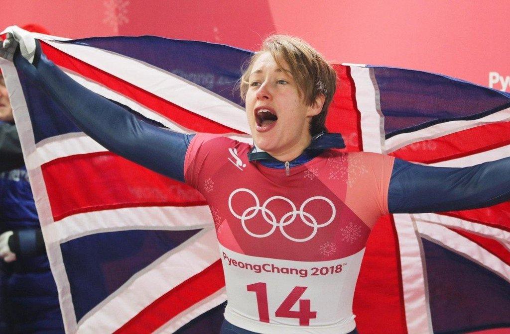Britka Lizzy Yarnoldová vyhrála na ZOH 2018 v Pchjongčchangu skeleton mezi ženami a obhájila zlato ze Soči.