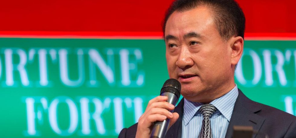 Wang Ťien-lin, majitel Dalian Wanda Group (Autor: Fortune Live Media, Flickr.com; CC BY-ND 2.0)