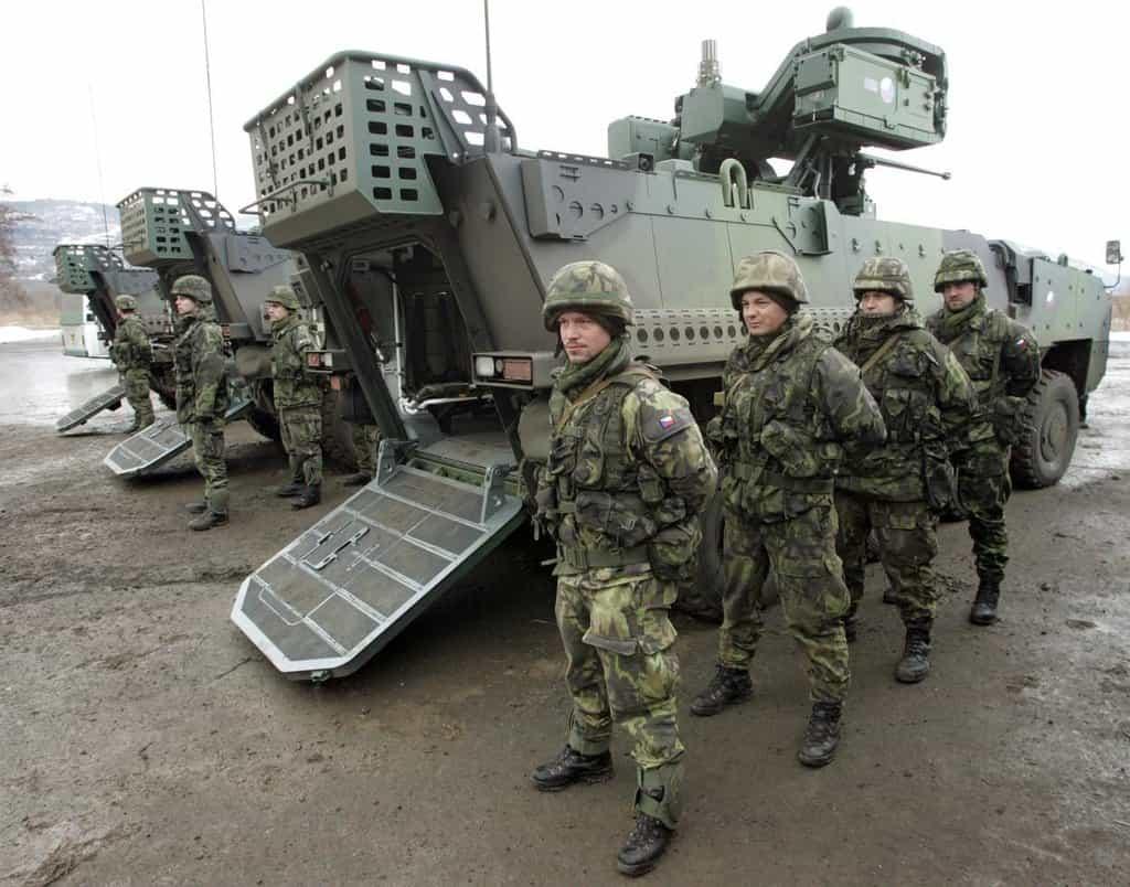 Pandury ve vojenském újezdu Hradiště v Doupovských horách