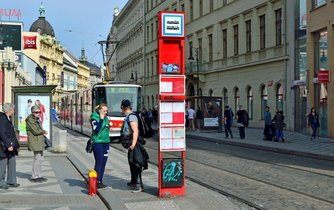 Zastávka MHD, ilustrační foto