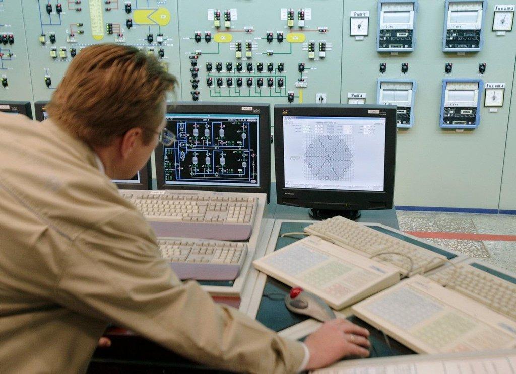 Južnoukrajinská jaderná elektrárna, ilustrační foto