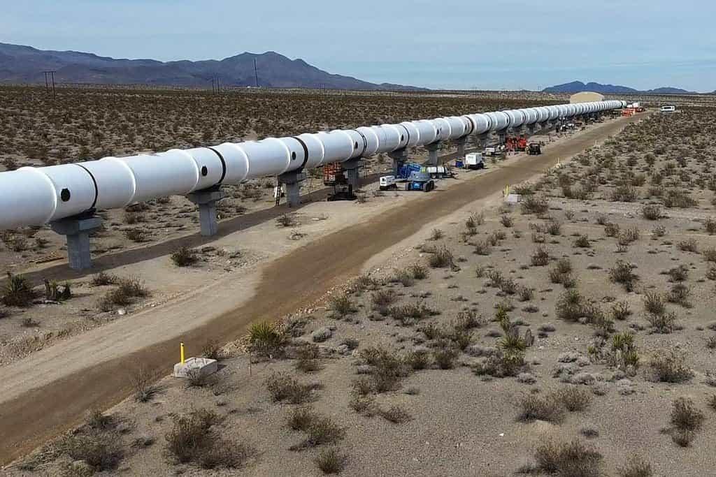 Hyperloop One by chtěl provést další test do konce poloviny letošního roku