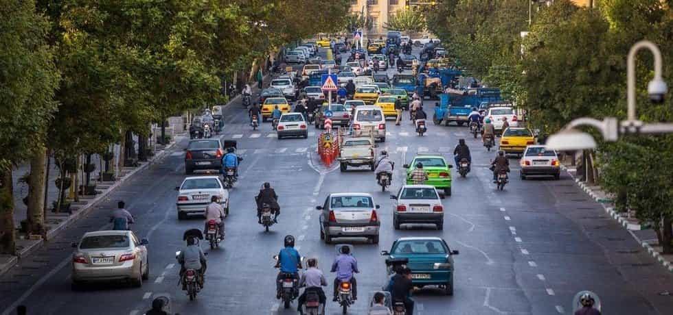 Doprava v Teheránu, ilustrační foto