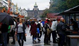 Trhy na Václavském náměstí - ilustrační foto