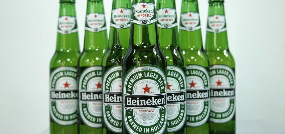 Pivo Heineken (ilustrační foto)