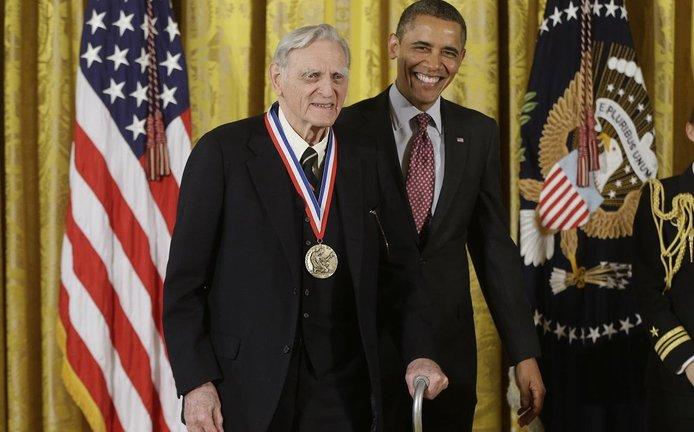 John Goodenough s Barackem Obamou (foto z roku 2013)