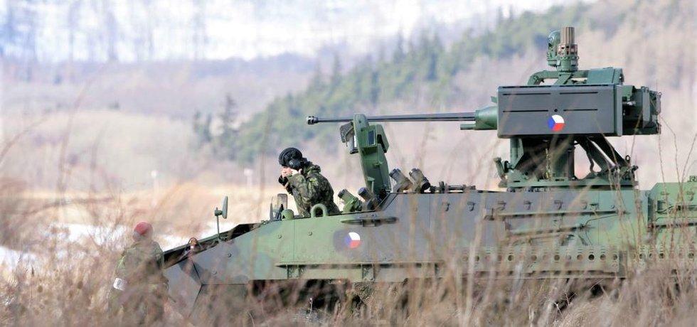 Vojenské cvičení, ilustrační foto