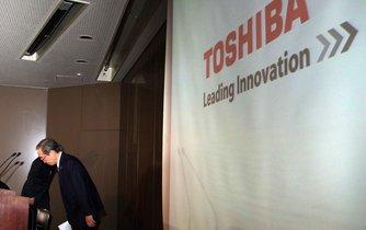Toshiba se snaží udržet na burze, ilustrační foto