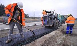 Oprava dálnice - ilustrační foto