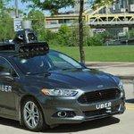 Autonomní vozidlo Uber