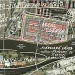 Vizualizace pohledu na Holešovickou tržnici