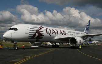 Airbus A350 katarských aerolinek