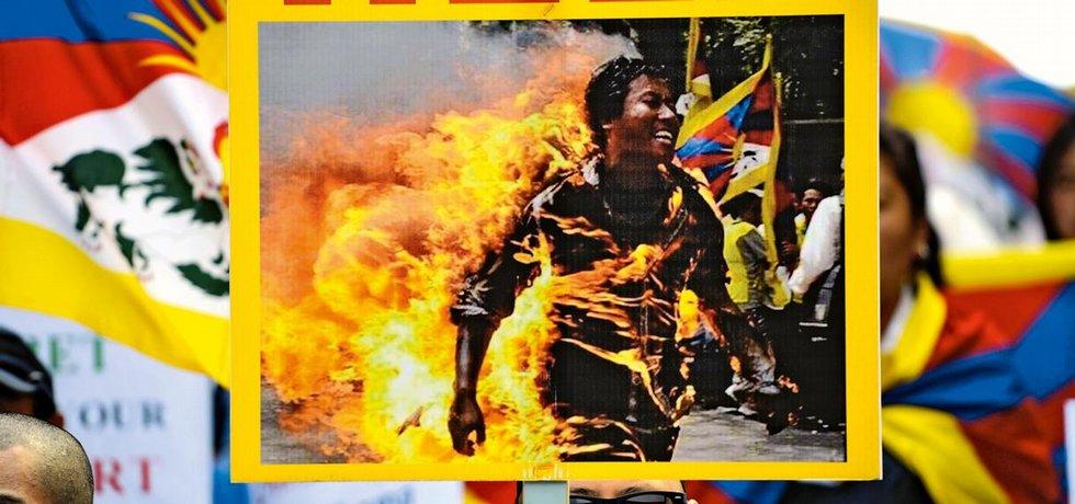 protest, Tibet,