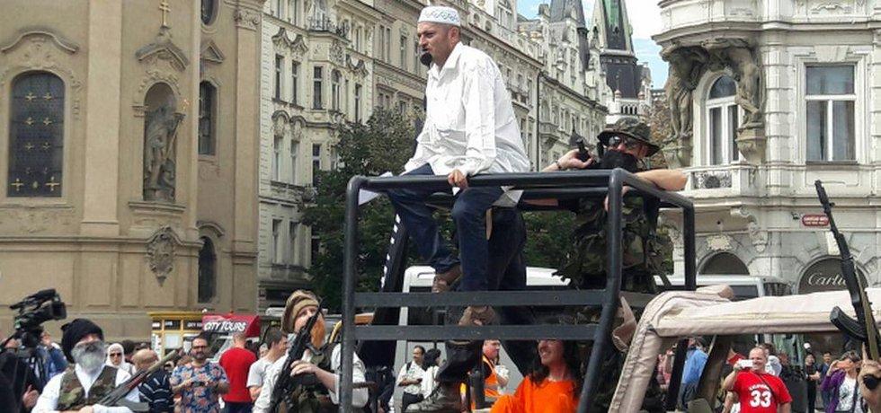 Konvička na Staroměstském náměstí (autor: ČTK)