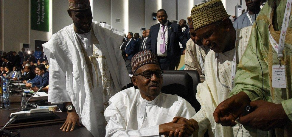 Nigerijský prezident Muhammadu Buhari