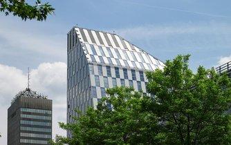 Administrativní budova Crystal v Praze na Vinohradech