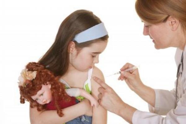 očkování, dítě